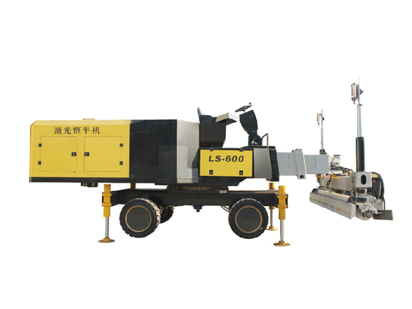 LS-600 high technology first class concrete laser screed for sale
